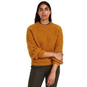 NWT Frank & Oak Mustard Yellow Wool Sweater